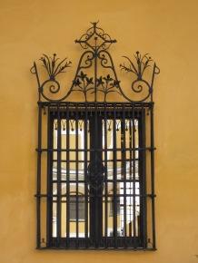 Ironwork Window - Real Alaczar