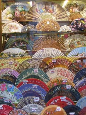 Flamenco Fans - Seville