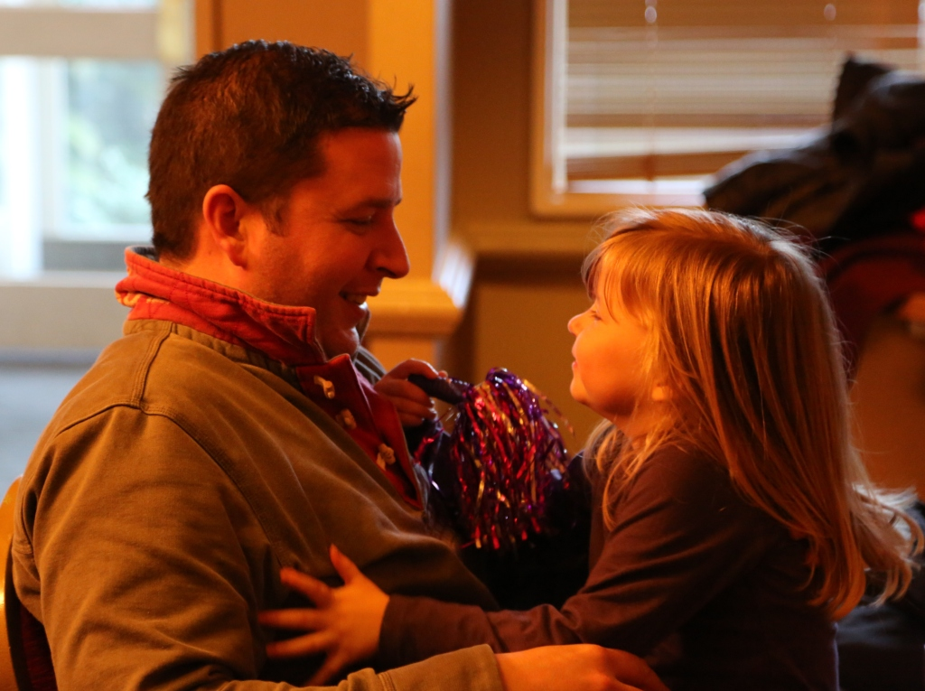 Mark & Daughter Evie