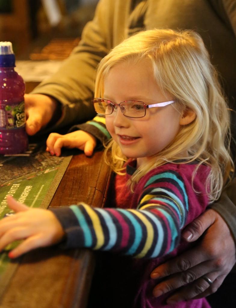 Katie at the bar