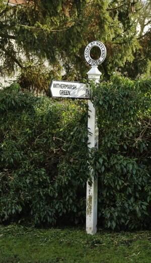 One of the original local signposts
