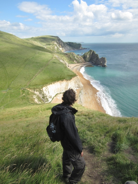 Jack & Durdle Door - to be used in Dorset AONB publications 2013
