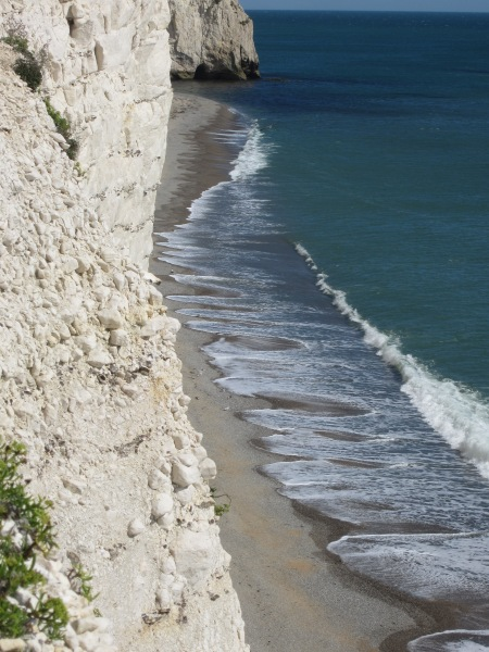 White Nothe Cliff & Scalloped Waves - 'Highly Commended'