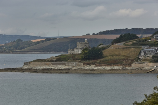 View across to St Mawes Castle