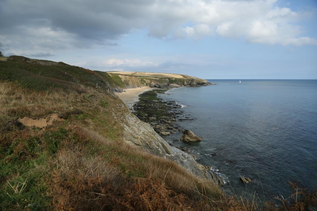 Portloe beach